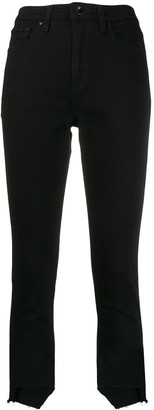 Rag & Bone unfinished-cuffs slim-fit jeans