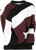 Marni twisted drape T-shirt