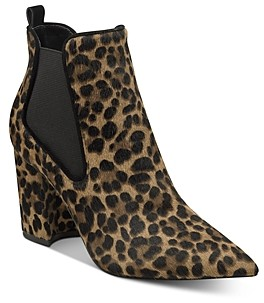 Marc Fisher Women's Tacily Leopard Print Booties