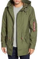Alpha Industries Men's 'M-59' Hooded Fishtail Parka