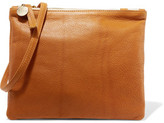 Clare Vivier Bretelle Textured-Leather Shoulder Bag