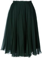 Rochas tulle pleated skirt