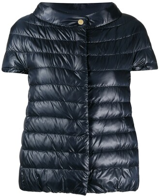 Herno Great short-sleeved down jacket