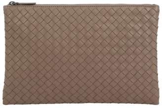 Bottega Veneta Medium Leather Intrecciato Pouch Bag