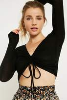 Out From Under Alexa Ruched Long-Sleeve Top
