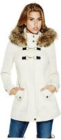 GUESS Women's Anastaja Toggle Coat