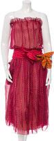 Marc Jacobs Silk Floral Print Dress w/ Tags