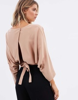 Tania Tie Back Blouse
