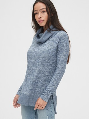 Gap Softspun Cowl-Neck Top
