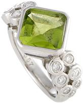 Heritage Platinum 4.20 Ct. Tw. Diamond & Gemstone Ring