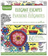 Crayola Aged Up Elegant Adult Colouring Book