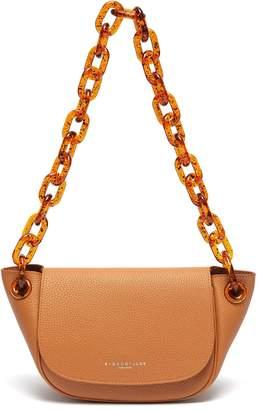 Simon Miller 'Bend' chunky chain leather shoulder bag