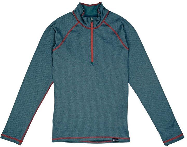 Patagonia Boy%27s Cap Zip Neck Thermal