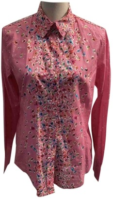 Paul Smith Pink Cotton Top for Women
