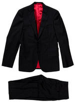 Isaia Pinstriped Wool Suit
