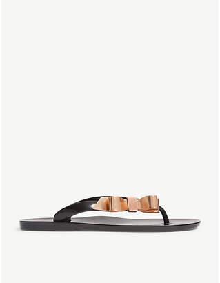 Ted Baker Jelly flip flops