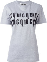 McQ by Alexander McQueen logo print T-shirt - women - Cotton - XXS