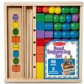 Melissa & Doug Toddler Bead Sequencing Set