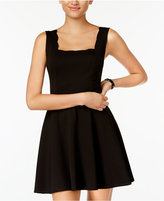 Jump Juniors' Scalloped Fit & Flare Dress