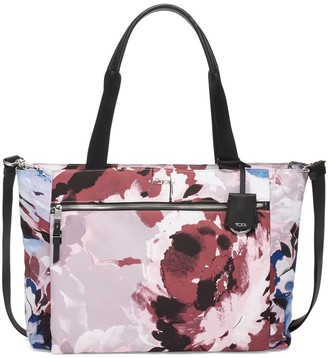 Tumi Voyageur Mauren Abstract Floral Tote