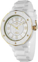 Oceanaut Acqua Womens White Rubber Bracelet Watch
