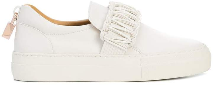 Buscemi braided-detail slip-on sneakers