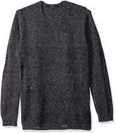 GUESS Men's Grunge Destroy Sweater