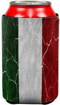 Old Glory Distressed Italian Flag All Over Can Cooler Multi Standard One