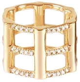 RACHEL KATZ Cage Ring With Diamonds