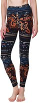 VIV Collection PLUS SIZE Printed Brushed Leggings