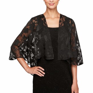 Alex Evenings Women's Wraps Shawls Cover Ups Jackets