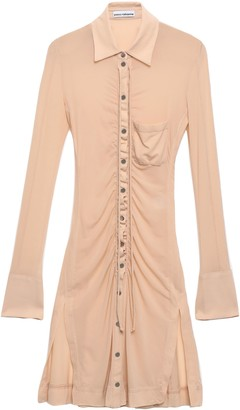 Paco Rabanne Ruched Jersey Shirt