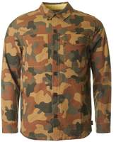 Barbour Camo Button Through Overshirt