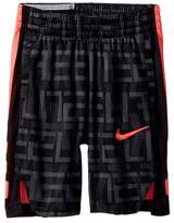 Nike Dry Elite Stripe Print Basketball Short Boy's Shorts