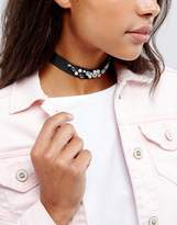 Johnny Loves Rosie Statement Embellished Choker Necklace