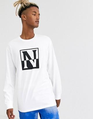Napapijri sambuci t-shirt in white