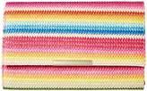 Jessica McClintock Nora Bright Stripe Clutch Clutch Handbags