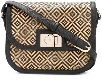 Furla 1927 Woven Crossbody Bag