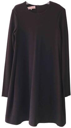 Cacharel Black Wool Dresses