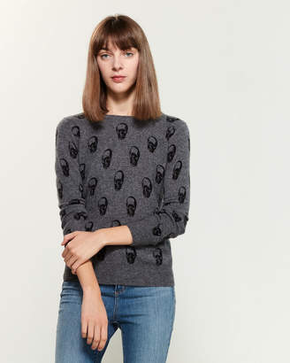 360 Cashmere Ply Cashmere Long Sleeve Sweater