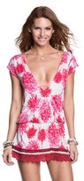 Maaji Pomegranate Lace Short Dress, M