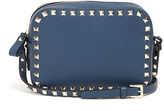 Valentino Rockstud camera leather cross-body bag