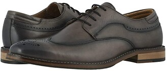 Stacy Adams Fletcher Wing Tip Oxford (Black) Men's Shoes