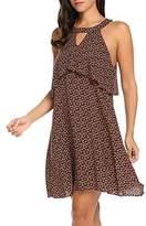 ACEVOG Casual Evening Sleeveless Summer Mini Swing Dress for Women