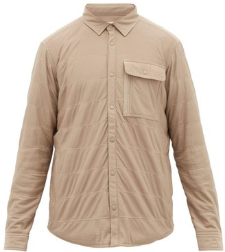 Snow Peak Flex Insulated Jersey Overshirt - Beige