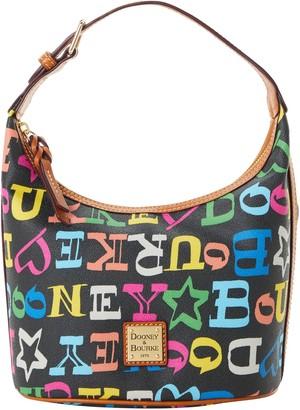 Dooney & Bourke Doodle Coated Cotton Bucket Bag