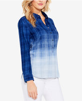 Vince Camuto TWO By Cotton Dip-Dyed Button-Down
