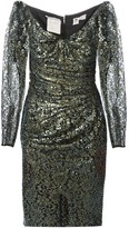 Ungaro Pre Owned sequin and lace dress