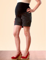 A Pea in the Pod Secret Fit Belly™ Cuffed Solid Color Maternity Shorts