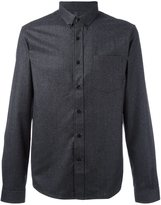 Ami Alexandre Mattiussi button down collar shirt - men - Wool - 41